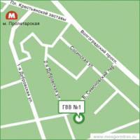 ГВВ №1 Схема проезда